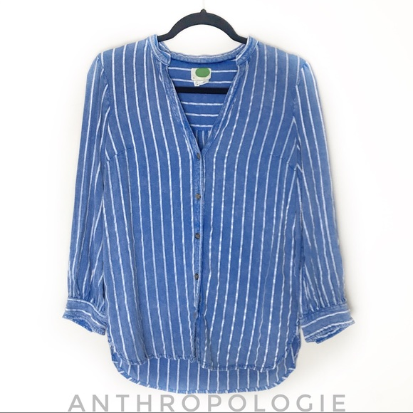Anthropologie Tops - Anthropologie Button Up Shirt